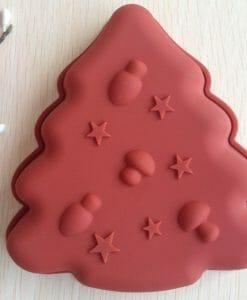 Silikoninė forma Kalėdų eglutė