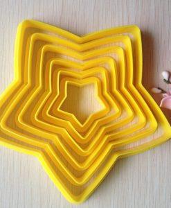 Sausainių formelės Žvaigždės