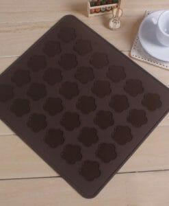 Dvipusių stačiakampių sausainių formelių rinkinys (banguotas kraštelis, 6 dydžiai)