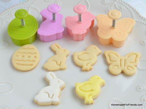 """Sausainių formelių rinkinys """"Velykos"""" (4 vnt.)"""